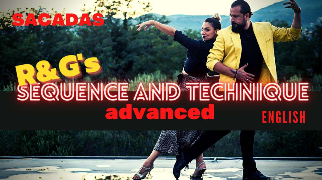 Sacadas (sequence and technique) with Rino and Graziella  - English - Advanced