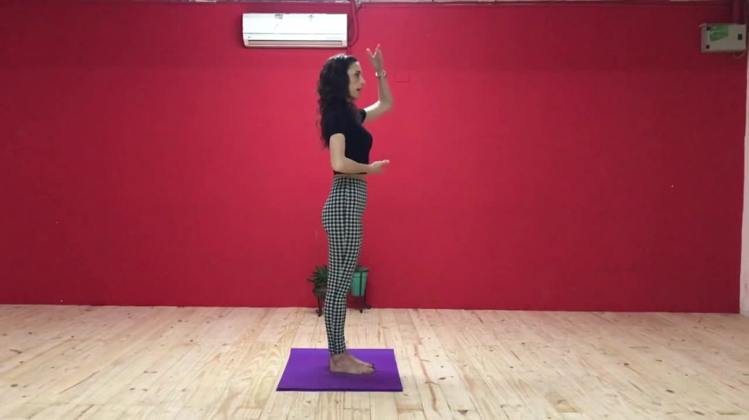 Virginia Vasconi & Lya Elcagu 1 - Axis, Posture, Change of Weight - Move to Create Class 1 Engli