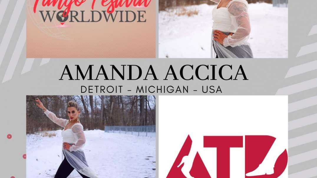 Lady´s Tango Worldwide present to Amanda Accica from Detroit - USA