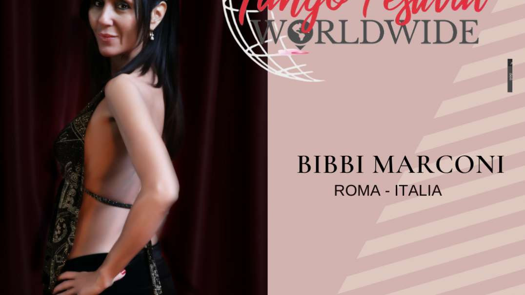 ⁣Lady´s Tango Worldwide presents Barbara Bibbi Marconi - Roma - Italia