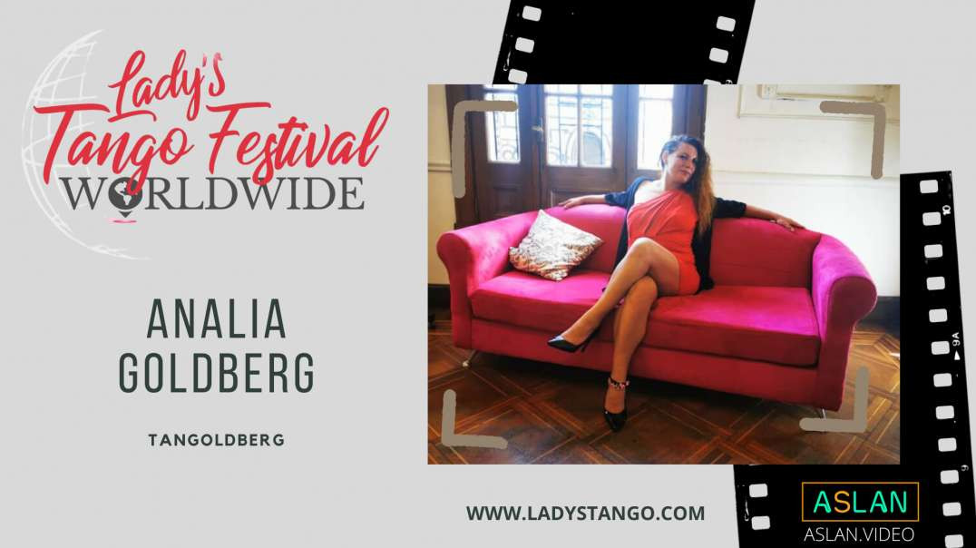 Lady´s Tango  presenta a  Analia Goldberg